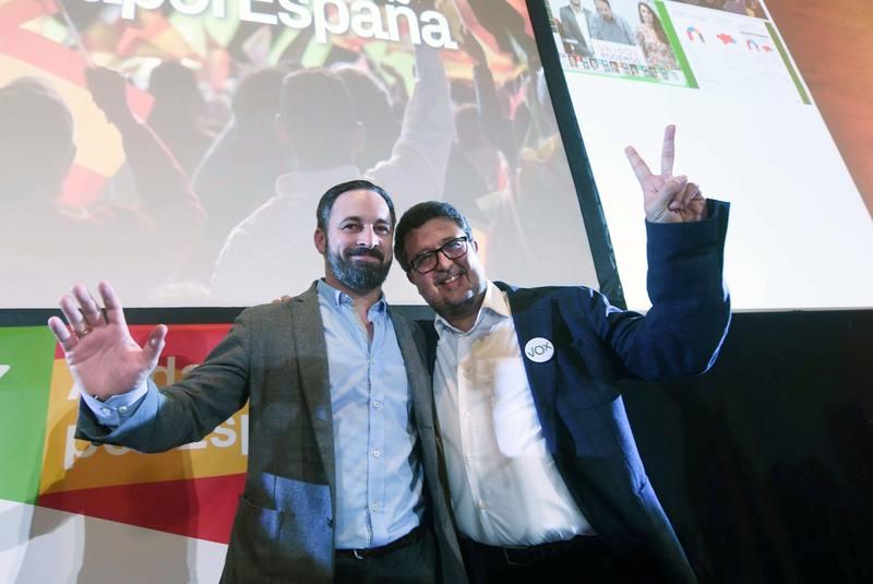 Vox celebra los resultados en las elecciones andaluzas