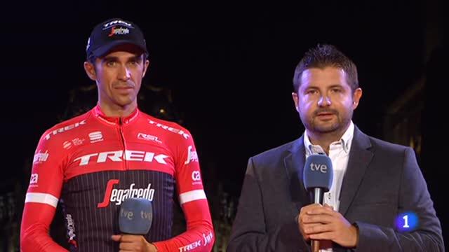 "Vuelta 2017 | Contador: ""Solamente puedo decir gracias"""