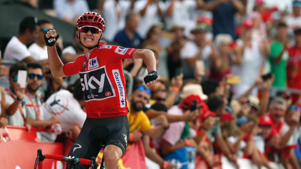 Vuelta 2017   Froome eclipsa a todos en la Cumbre del Sol