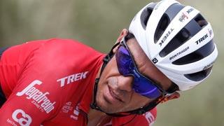 Vuelta 2017 | Llegada de Alberto Contador a Los Machucos