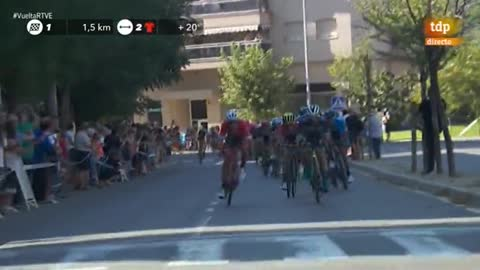 Vuelta 2018 | El belga Wallays sorprende a los 'sprinters' en Lleida