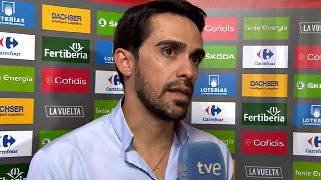 """Vuelta 2018   Contador: """"Nos ha sorprendido la madurez de Enric Mas"""""""