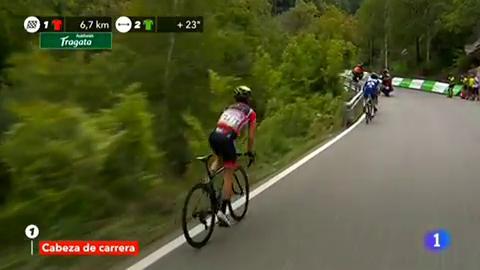 Vuelta 2018. Enric Mas se hace un sitio en el podio tras ganar la etapa reina