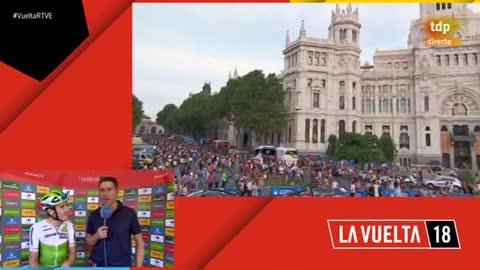 """Vuelta 2018   Igor Antón: """"Estoy orgulloso de lo que me ha dado el ciclismo, lo bueno y lo malo"""""""