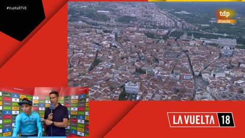 """Vuelta 2018   Miguel Ángel López: """"Subir al podio era lo mínimo que esperábamos"""""""