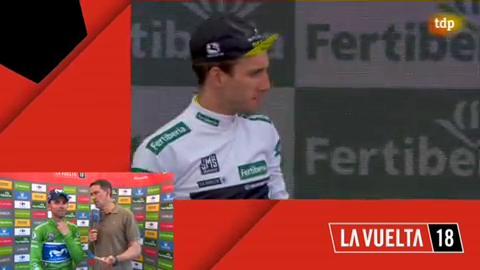 """Vuelta 2018. Valverde: """"Mañana habrá batalla"""""""