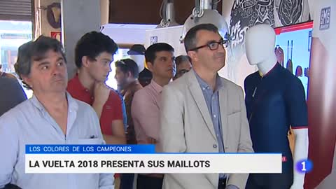 La Vuelta estrena maillots y 'praeres' asturianas