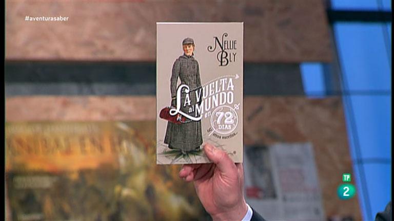 La Aventura del Saber. TVE. Libros recomendados:  'La vuelta al mundo en 72 días y otros escritos',