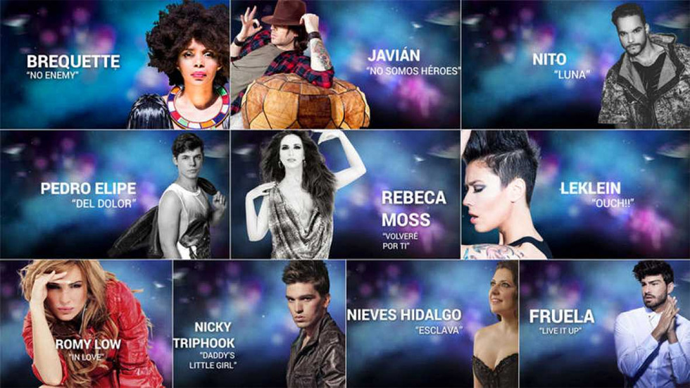 Eurovisión 2017- Vuelve a ver el videoencuentro de los 10 eurocandidatos más votados