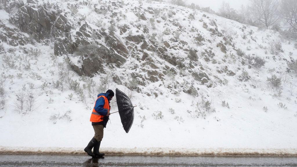 Vuelven las nevadas a gran parte del país