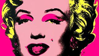 La sala: Guggenheim - Warhol