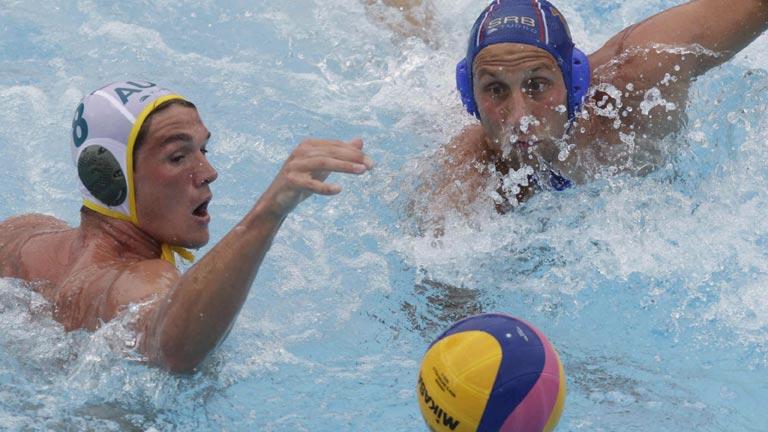 Waterpolo masculino. 7º y 8º puesto. Australia - Serbia