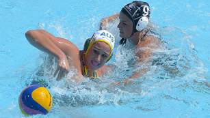Waterpolo femenino. Fase de grupos: Australia - Nueva Zelanda