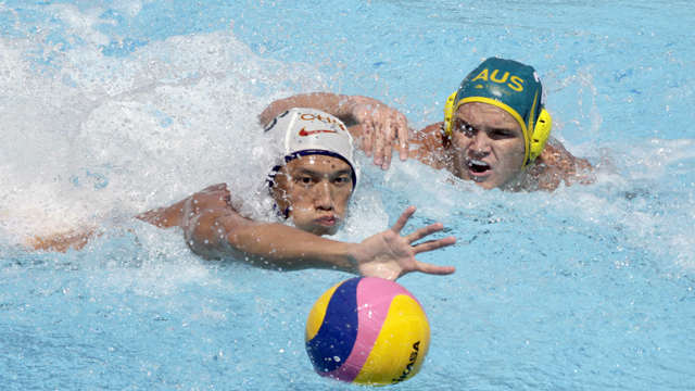 Waterpolo masculino. Fase de grupos: China - Australia