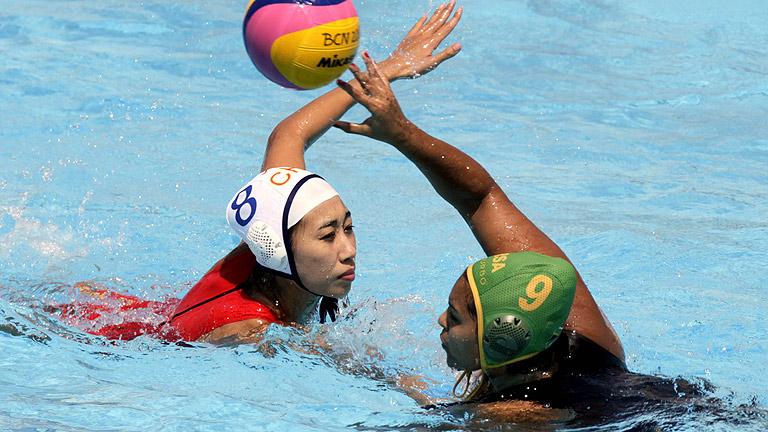 Waterpolo femenino. Fase de grupos: China - Sudáfrica