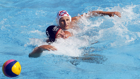 Waterpolo masculino. Fase de grupos: Croacia - USA