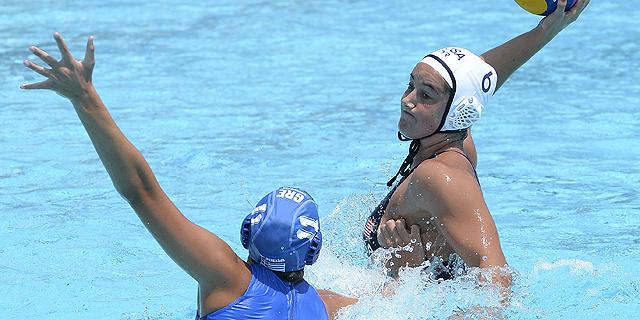 Waterpolo femenino. Fase de grupos: Estados Unidos - Grecia