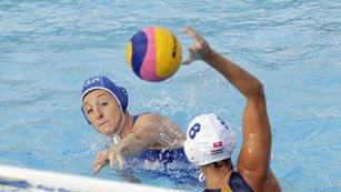 Waterpolo femenino. Fase de grupos: Hungría - Italia
