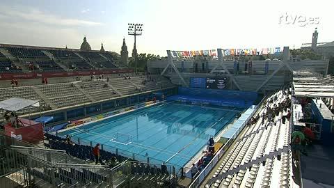 Waterpolo masculino. Fase de grupos: Montenegro - Grecia