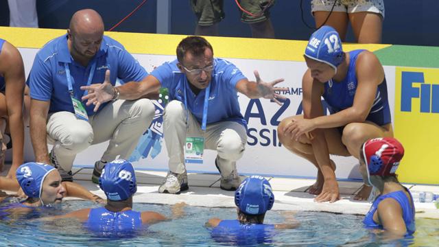 Waterpolo femenino. Fase de grupos: Reino Unido - Grecia