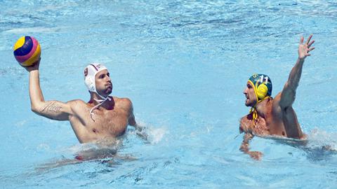 Waterpolo masculino. Fase de grupos: Serbia - Australia
