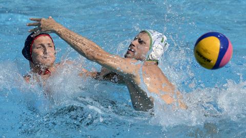 Waterpolo masculino. Fase de grupos: Sudáfrica - Estados Unidos
