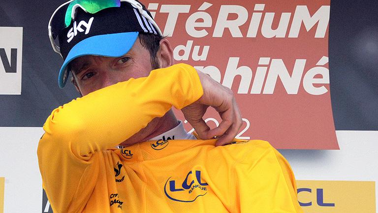Wiggins humilla a sus rivales en la CRI de la Dauphiné
