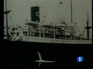 70 aniversario de la llegada del Winnipeg a Chile