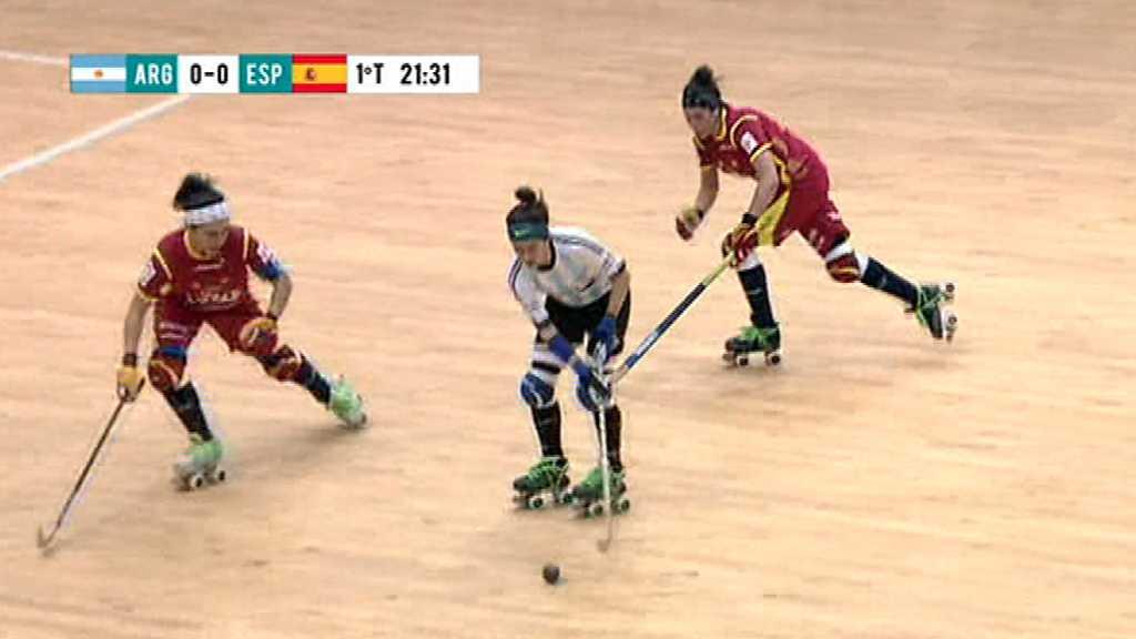 Hockey patines - World Roller Games 2017 Campeonato del Mundo Femenino. Final: Argentina-España, desde Nanjing (China)