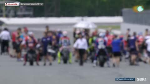 Motociclismo - Campeonato del Mundo Superbike. WSBK 1ª Carrera, prueba Rep. Checa, desde Brno