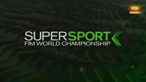 Motociclismo - Campeonato del Mundo Superbike. Supersport, prueba Rep. Checa