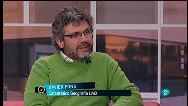 Para Todos La 2 - Entrevista: Xavier Pons Fernández, Catedrático de Geografía