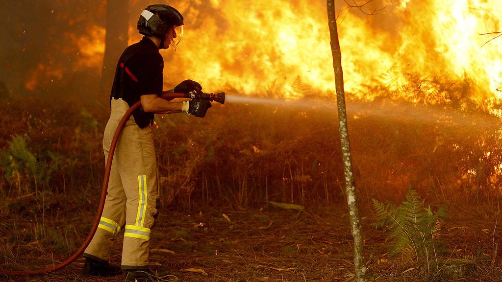La Xunta confirma que los incendios que amenazan Vigo han sido provocados