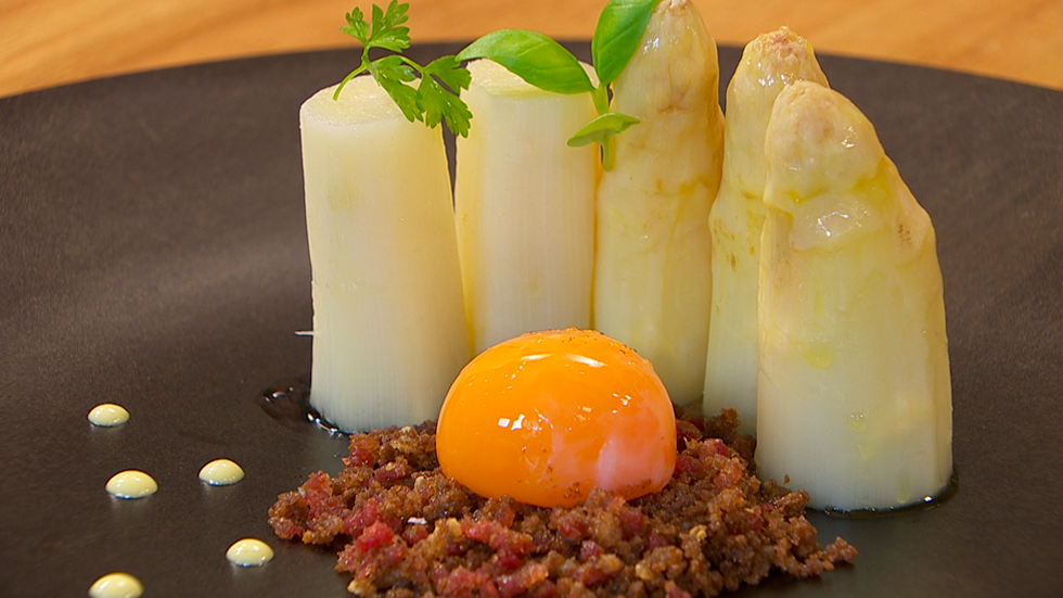 Torres en la cocina - Yema de huevo curada