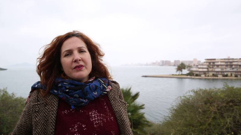 Yolanda Pedreño habla sobre el Mar Menor