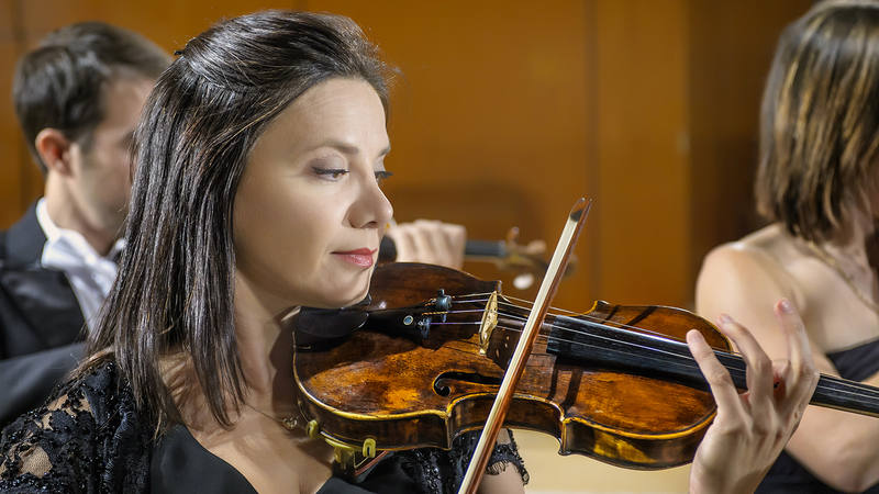 La violinista Yulia Iglinova