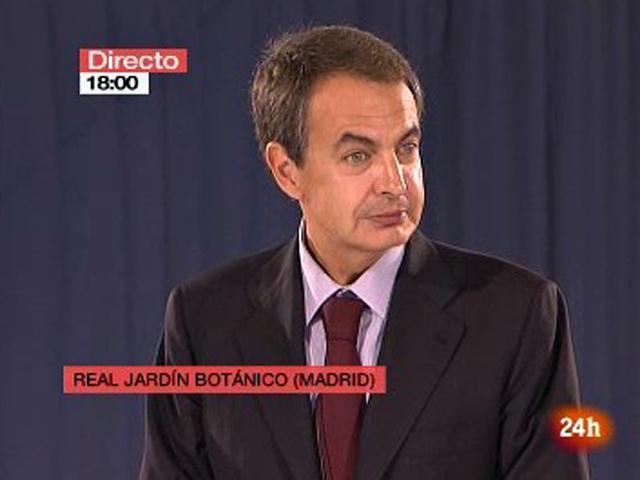 Zapatero: 'Con el Nobel de Vargas Llosa crecemos todos'