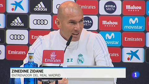 """Zidane admite que entrenar al Real Madrid es """"muchísimo desgaste"""""""