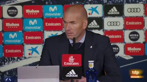 """Zidane: """"La BBC siempre ha estado ahí"""""""