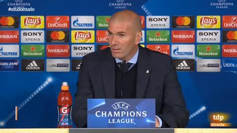 """Zidane: """"Yo creo que hay penalti"""""""