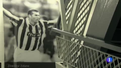 Zidane dejó huella en la Juve y en Turín