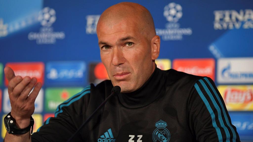 """Zidane: """"Dentro del vestuario nadie se siente favorito"""""""