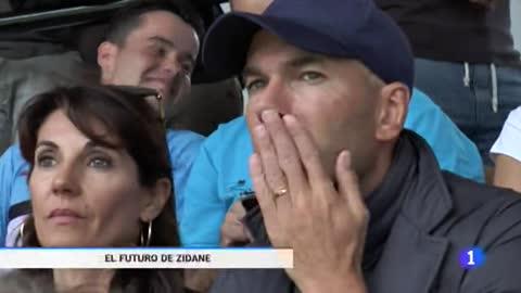 """Zidane: """"Dentro de poco voy a volver a entrenar"""""""