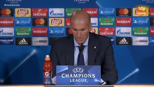 """Zidane: """"Nos faltó ritmo en la primera parte"""""""