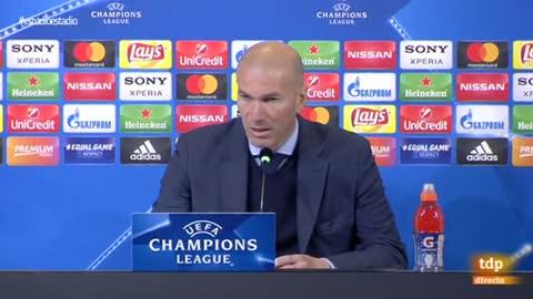 """Zidane: """"Fue más bonito mi gol en Glasgow"""""""
