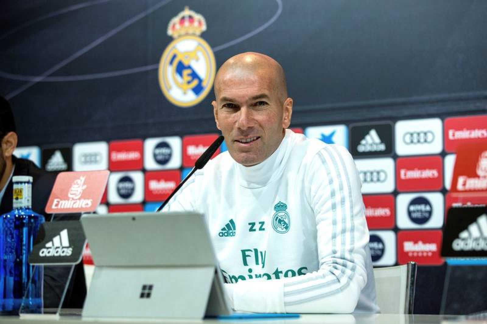 """Zidane: """"La lesión de Neymar no nos alegra. Ojalá pueda estar en la vuelta"""""""
