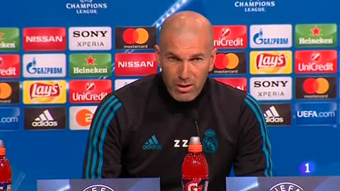 """Zidane: """"No nos cagamos"""""""