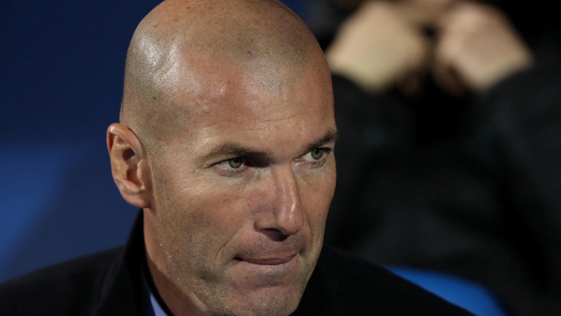 """Zidane: """"El resultado es muy bueno, hicimos un partido serio"""""""