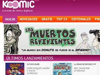 Zoom Net: Koomic, la primera tienda de cómics digitales en español