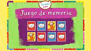 JuegoEl juego de memoria de Lupe